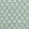 Rosepath pos/neg, main green 469, white 101; white yarn
