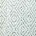 Diamond Twill, white 100; yarn - natural