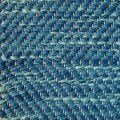 Herringbone, blue mix 404, 518, effect green 407 on natural yarn