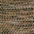 Herringbone, green mix 460, 465, 468, 487_1, 122 on the natural yarn