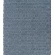 Soft Dual Diamond Twill, main blue 0515, inside denime 0474 on the white yarn rug