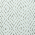 Diamond Twill, white 100; yarn - natural