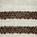 Single Weave with stripes of Round Rosepath