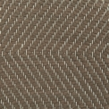 Herringbone, brown mix 238, 238-1 on the natural yarn