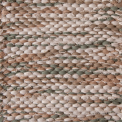 Doble Weaving, main white mix 101, 102, effects green 472, beige mix 234, 238 on the natural yarn