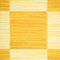 Double Weave Chequered, 1 sq. - yellow mix 275, 276, 277, 2 sq. - beige mix 270, 271, yellow effect 273 on the natural yarn