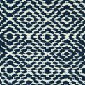 Flat Dual Diamond Twill, 1 row - off-white 103, 2 row - deep blue 522_ yarn - white