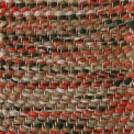 Herringbone, red mix 311, 376, 311, green mix 460, 465, 468, 487_1, 122 on the natural yarn