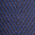 Vertical Herringbone, denim 0474