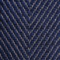 Vertical Herringbone, blue H494