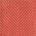 Vertical herringbone. red 0445
