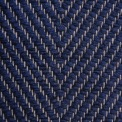 Vertical Herringbone, dark blue H494